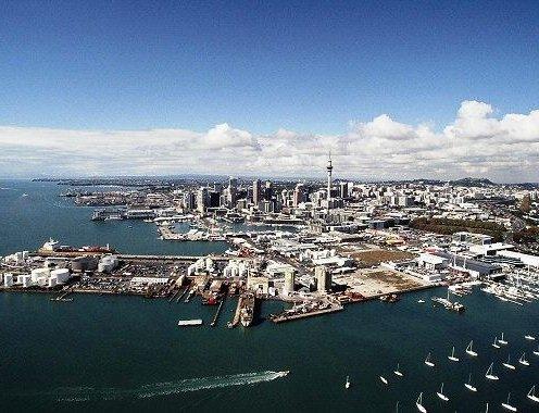 Auckland harbour – Wynyard