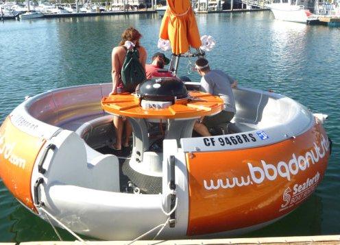 BBQ Donut Boat Rental