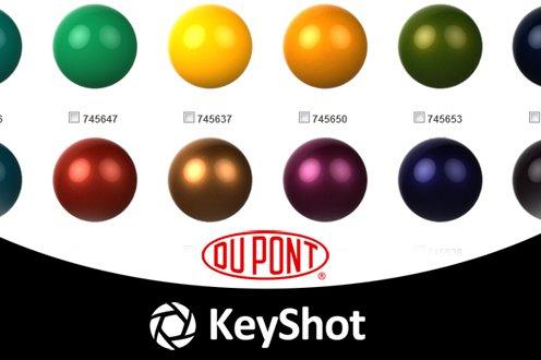 DuPont Paints for KeyShot Now