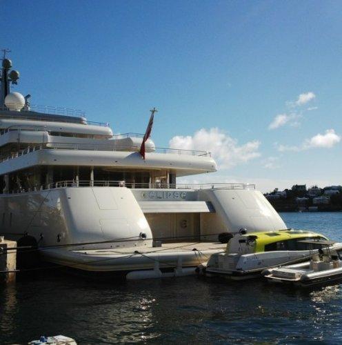 Luxury motor yacht Eclipse