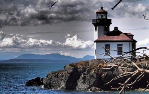 Lime Kiln Lighthouse - San