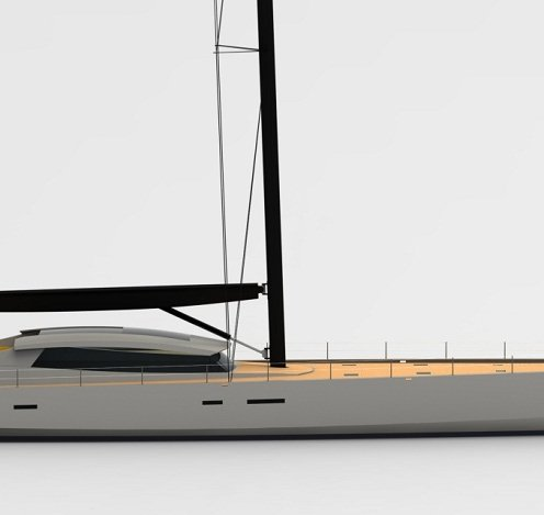High performance sailing yacht