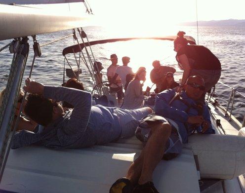 LA Sailing Charter: Boat