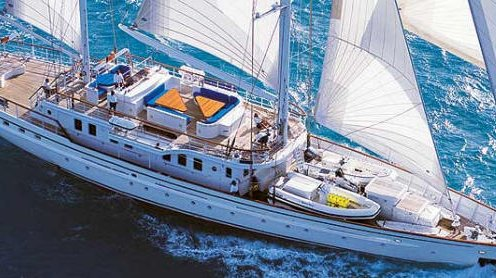 Luxury sailing yacht vacations