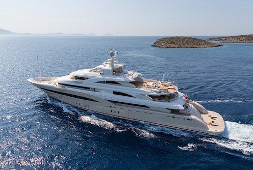 Luxury Mega yacht charter