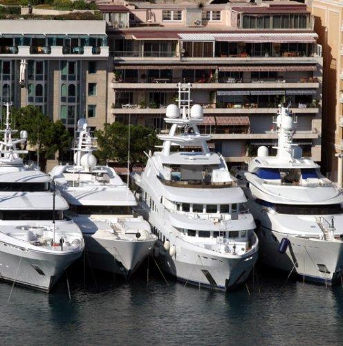 Super yachts, Monaco — October