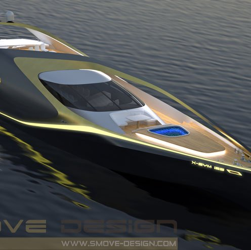 New Yacht Design: X-SYM 125 by