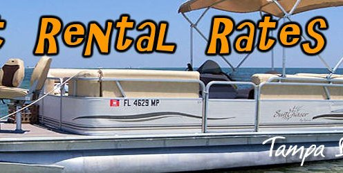 Pontoon Boat Rental Rates