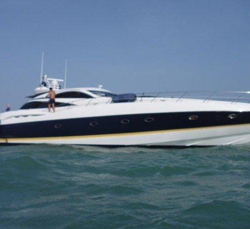 Predator 75 foot yacht rentals