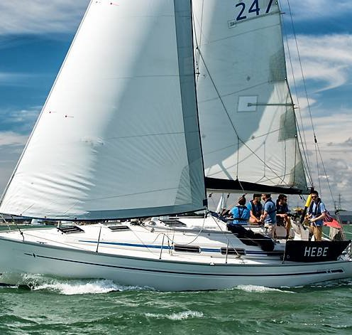 Hebe Solent Bareboat Yacht