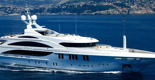 Chartered yacht vacations to