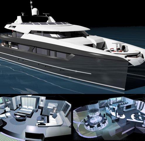 Luxury catamaran yachts