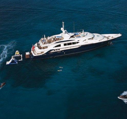 Swan Charter Yacht