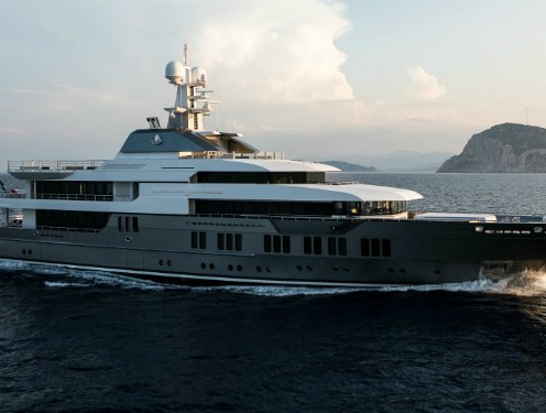 The 5 Largest Superyachts at