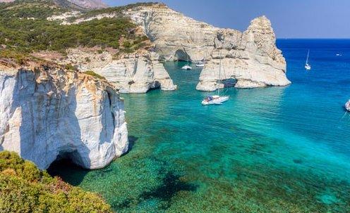 Cyclades Islands Luxury Yacht
