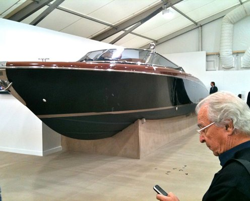 This Riva power boat