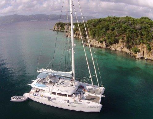BVI Crewed Catamaran