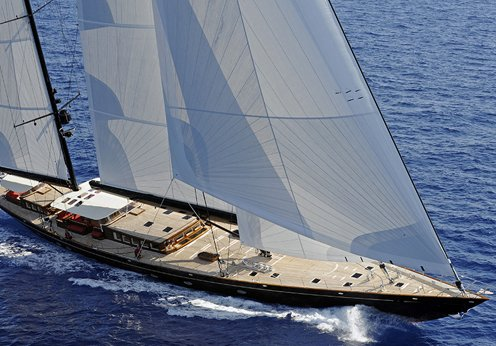 Sailing superyachts for