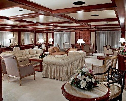 Mega Yachts Interiors