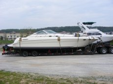 41 Ft SeaRay Express Boat Shipping x-country