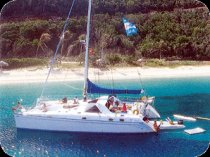 Caribbean Sailing Vacation Yacht