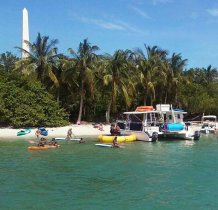 Enjoy water toys on Tranquility for every single day cruise from Miami cayaks provide