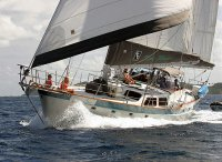 monohull sailboat crewed boat charters