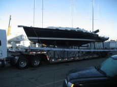SabreYacht SailBoat Under Boat Shipping Contract
