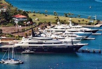 Caribbean yachts