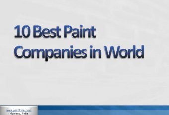 International Paint Companies