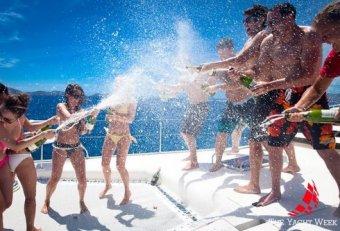 Yacht week Caribbean